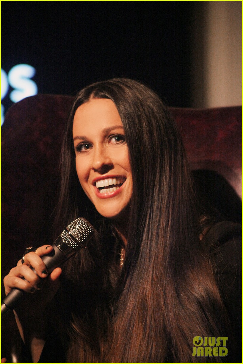 alanis morissette album listening party 02