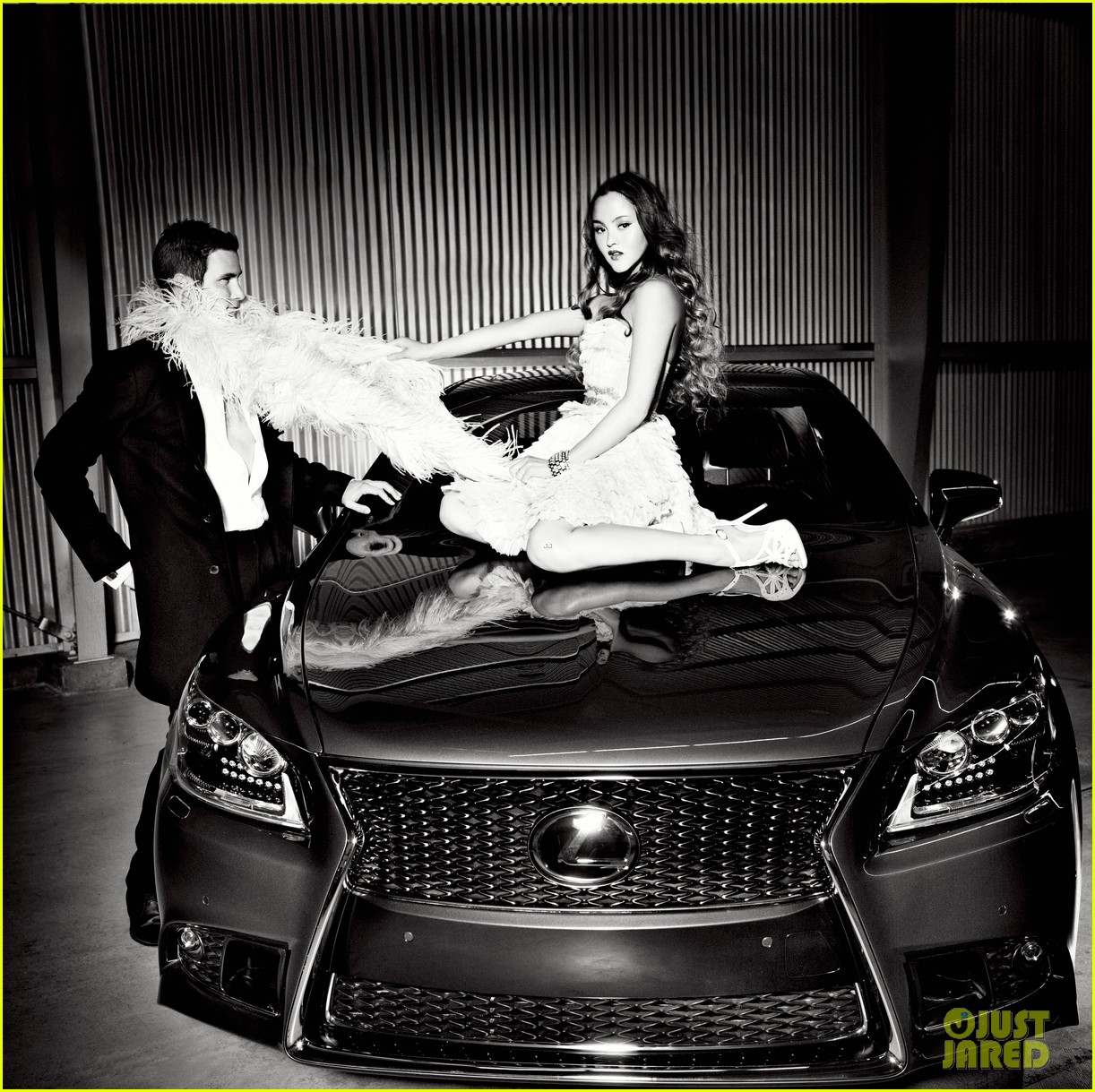 jaime king kyle newman lexus laws of attraction shoot 03