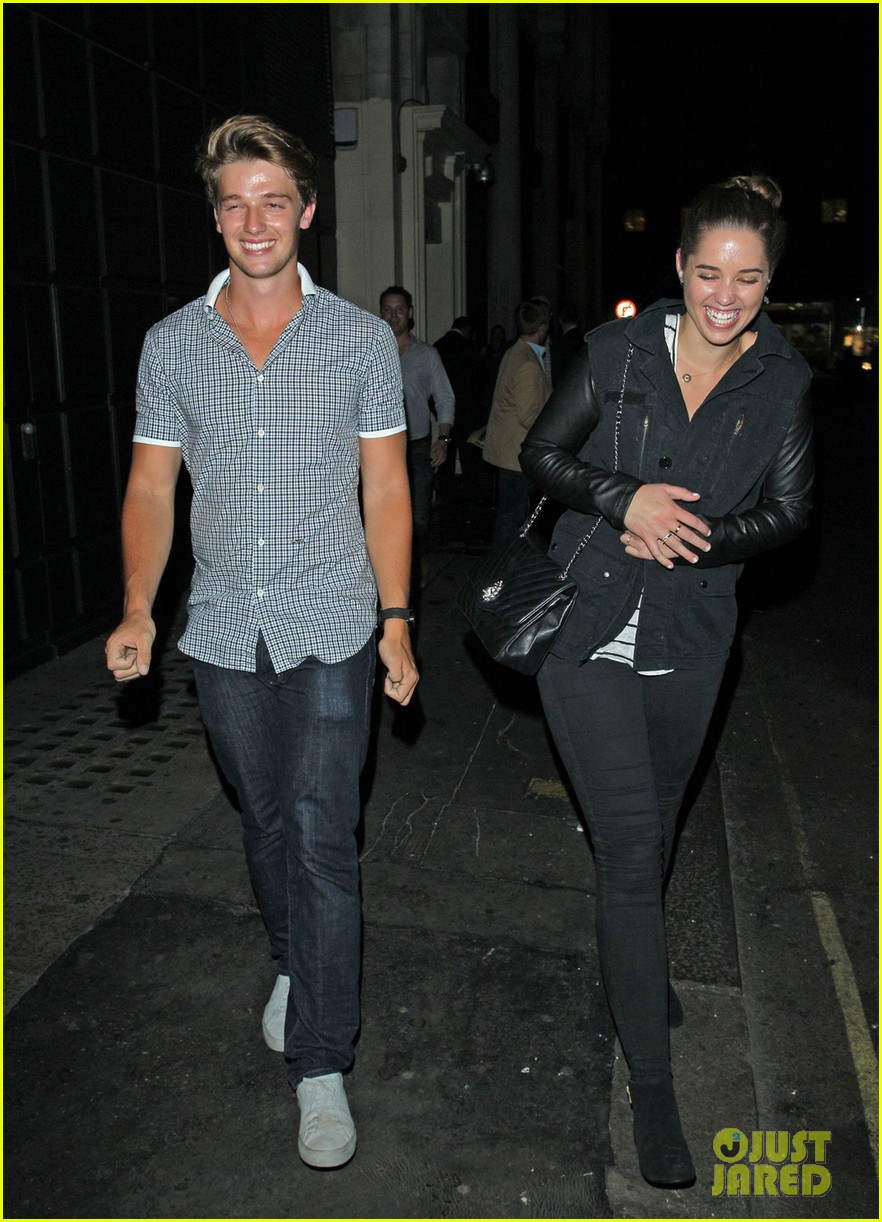 patrick schwarzenegger london nightclub with sis katherine 082701395