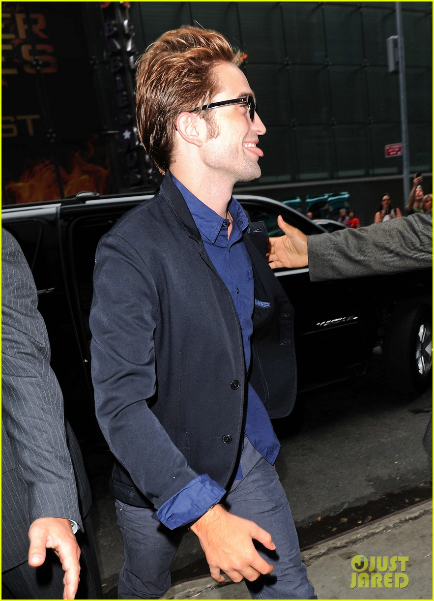 robert pattinson today show 10