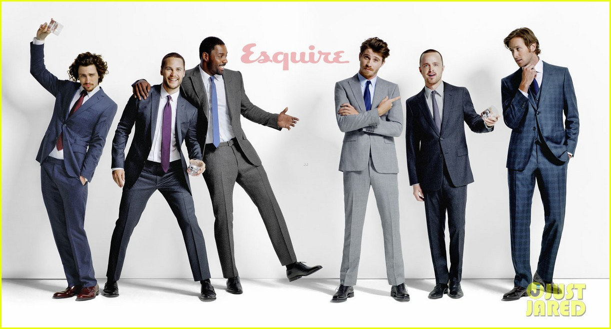 taylor kitsch garrett hedlund aaron paul esquire feature 022699088