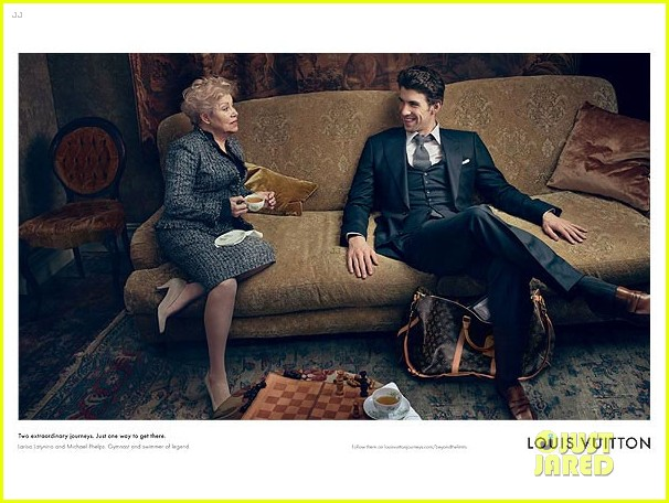 michael phelps louis vuitton core values campaign