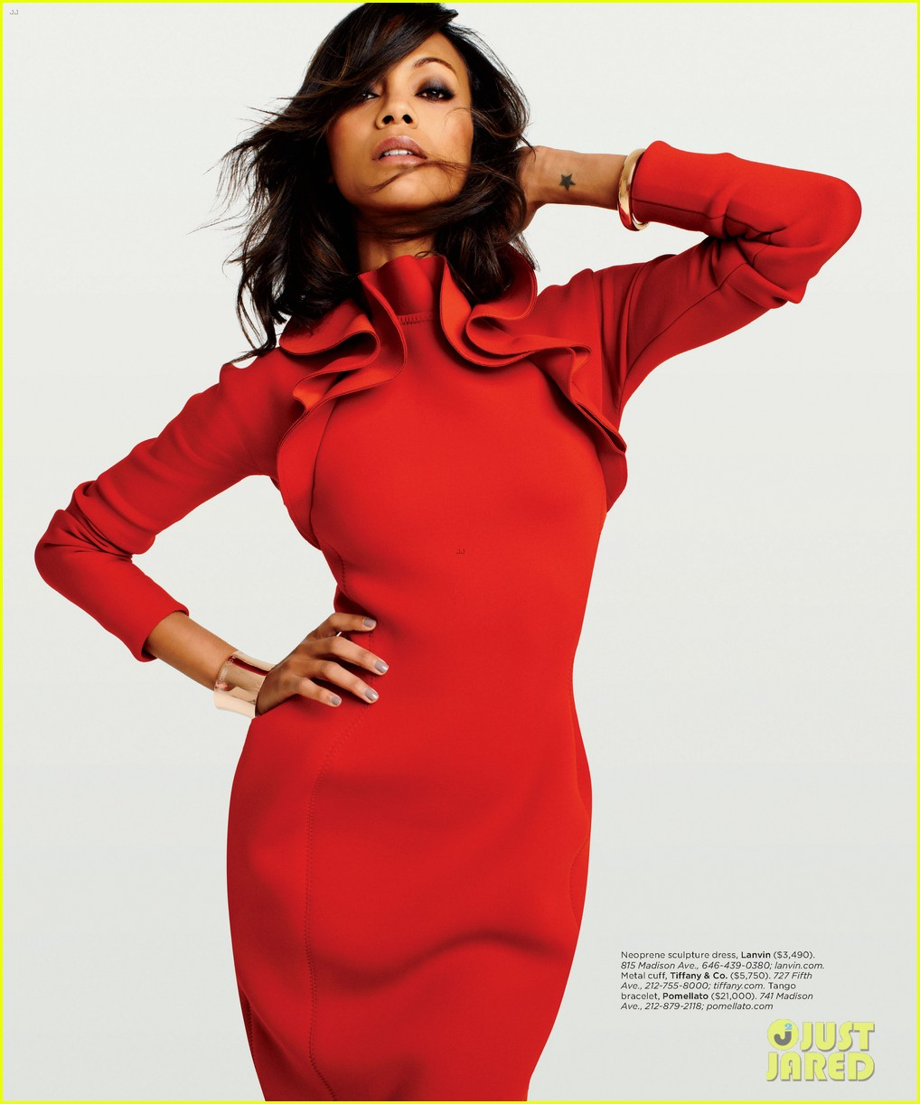 zoe saldana covers gotham magazine september 2012 02