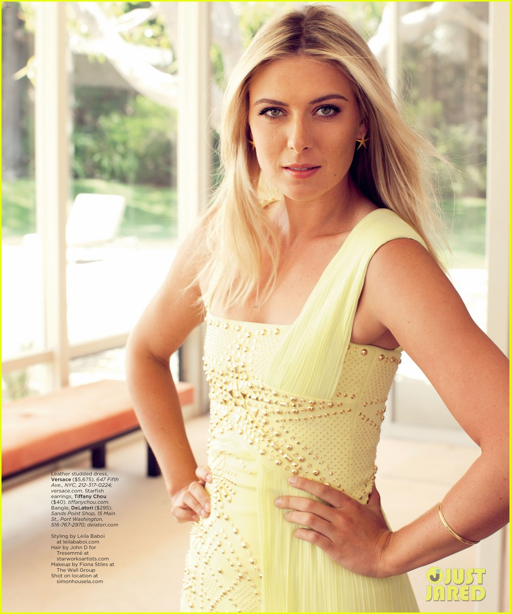 maria sharapova sugarpova launch hamptons mag cover 072705464