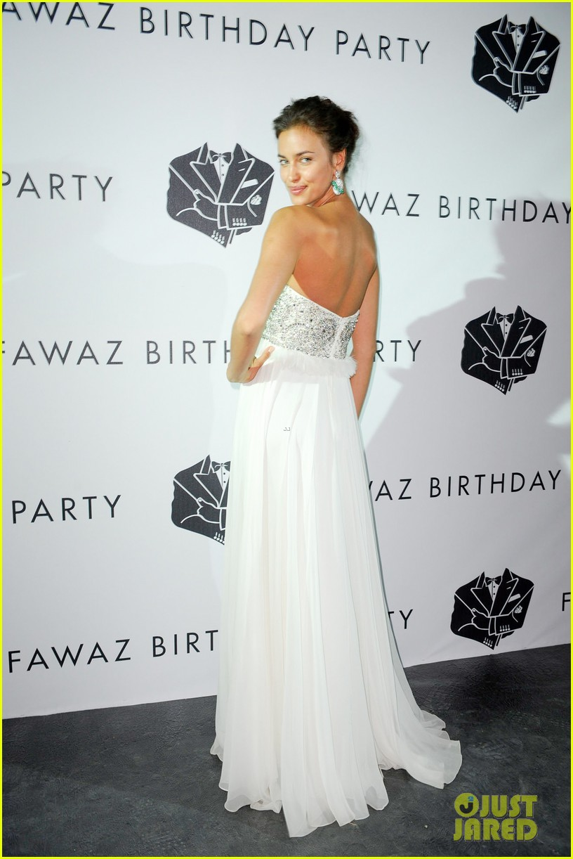irina shayk fawaz gruosis 60th birthday bash 05
