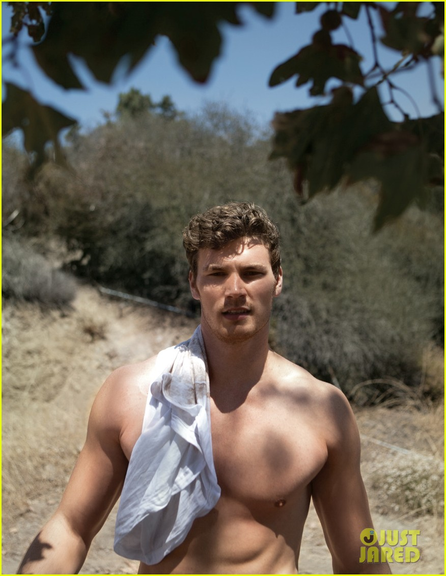 derek theler shirtless da man 06