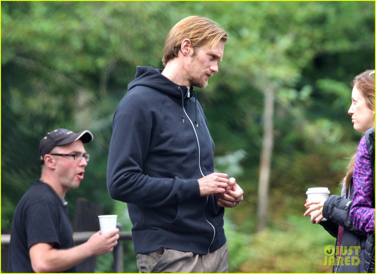 alexander skarsgard hidden set with andrea riseborough 142710470
