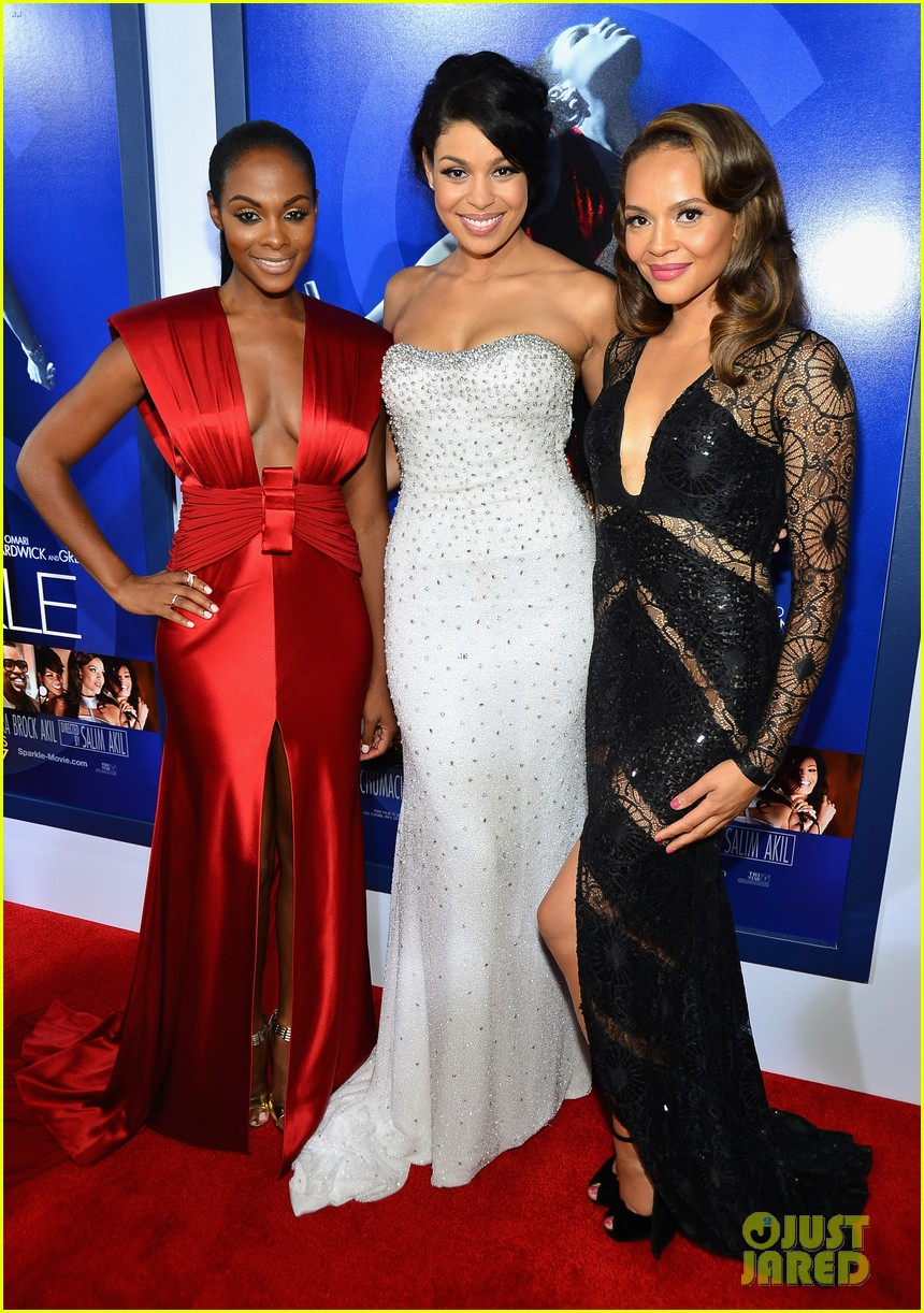 jordin sparks sparkle premiere with bobbi kristina brown 05