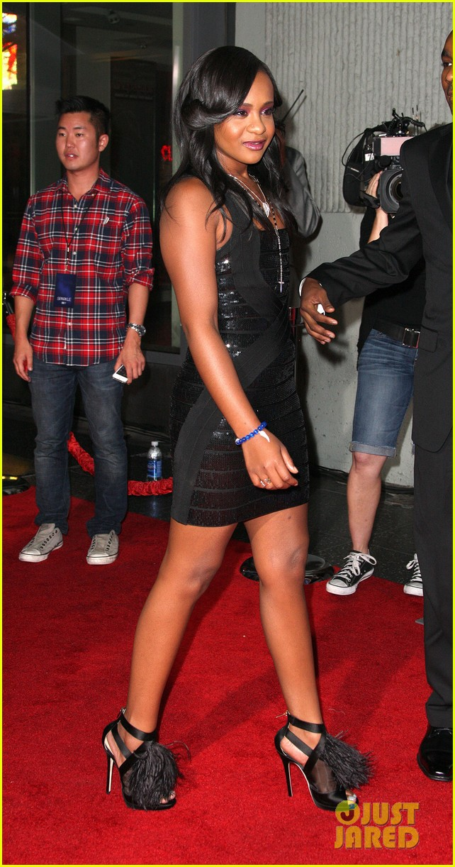 jordin sparks sparkle premiere with bobbi kristina brown 062703526