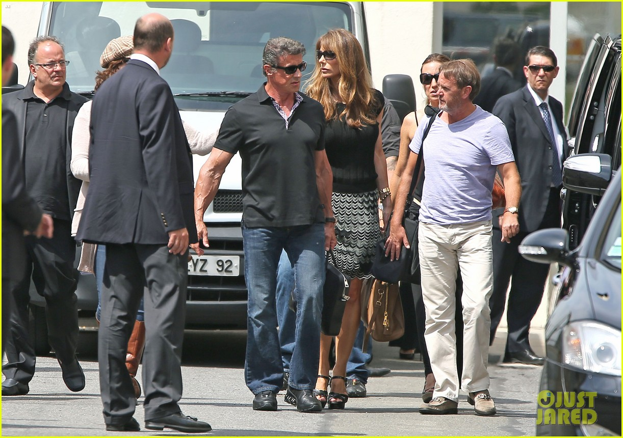 sylvester stallone family yacht vacation in cannes 04