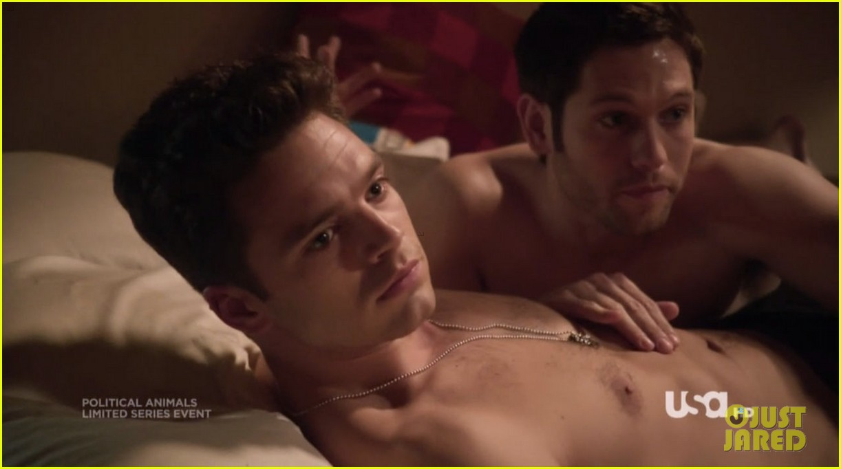 sebastian stan shirtless for political animals 05