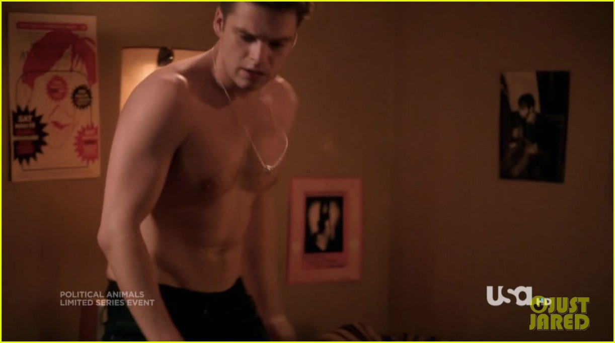 sebastian stan shirtless for political animals 20