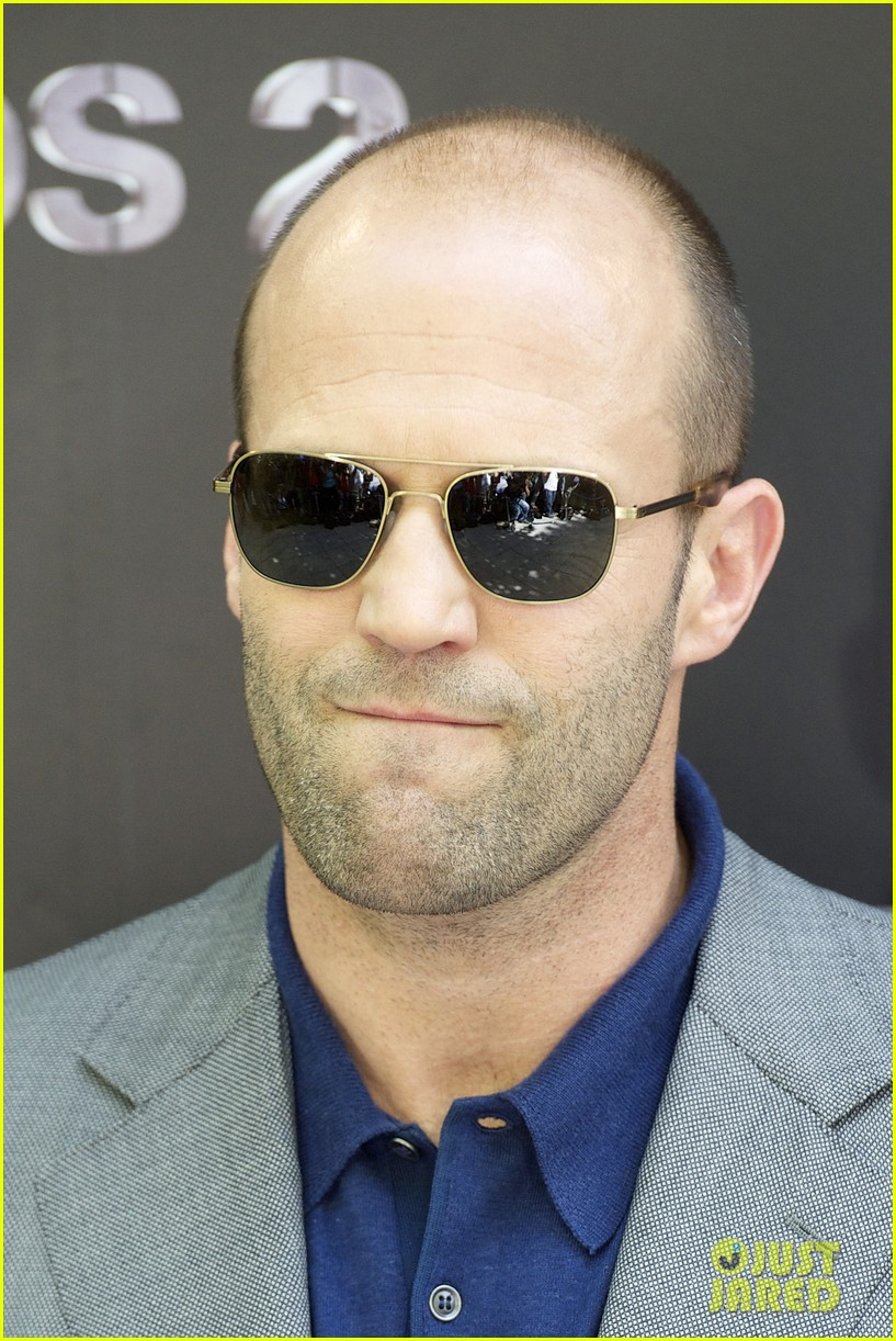 jason statham expendables 2 photo call spain 09