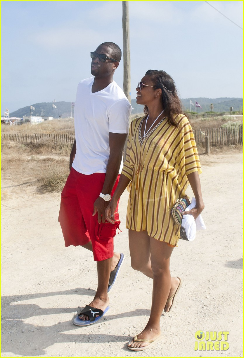 gabrielle union dwyane wade saint tropez vacation 01