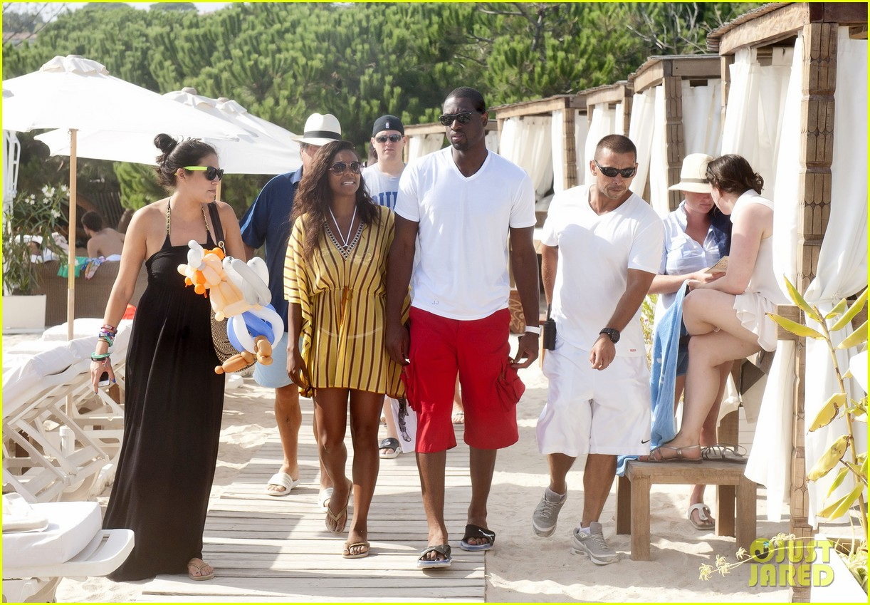 gabrielle union dwyane wade saint tropez vacation 02