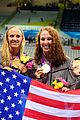 womens us swimming team wins gold in 4x200m freestyle relay 24
