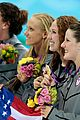 womens us swimming team wins gold in 4x200m freestyle relay 25