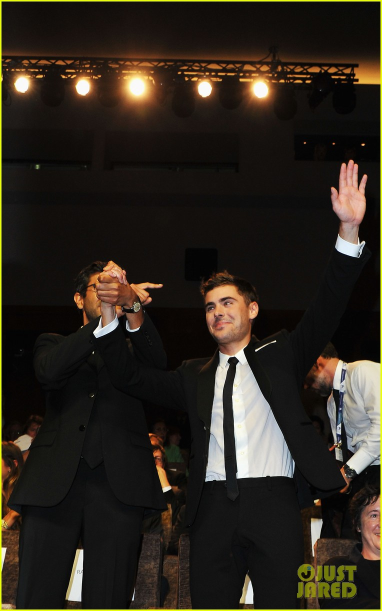 zac efron at any price venice premiere 10