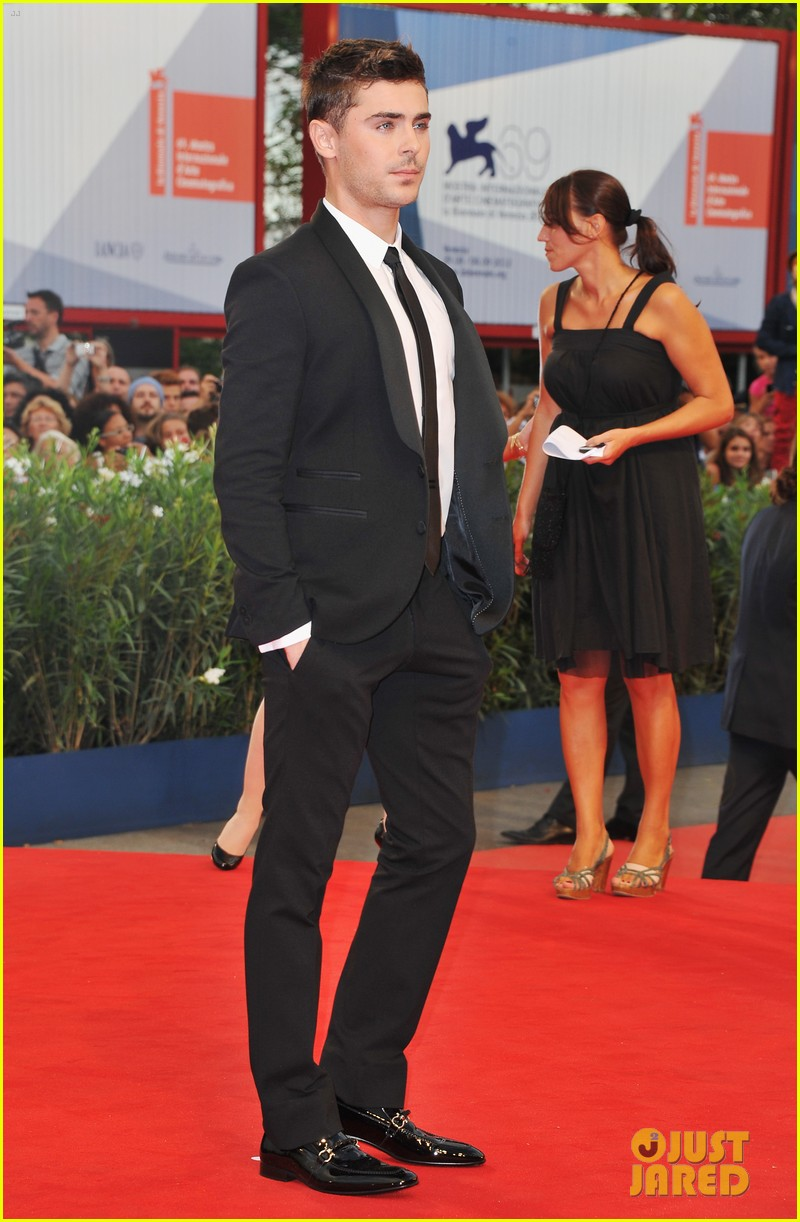 zac efron at any price venice premiere 17