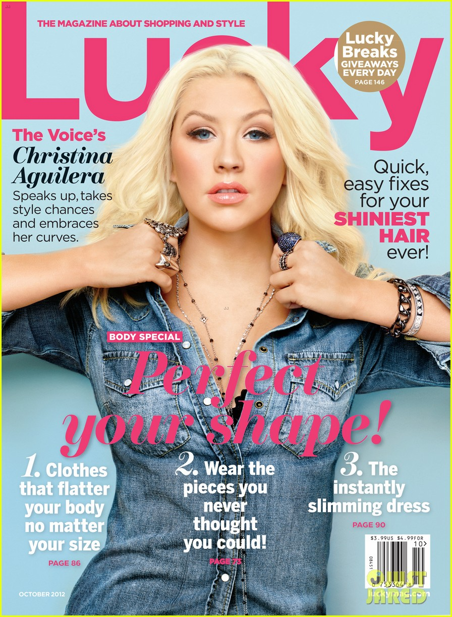 christina aguilera covers lucky october 2012 04