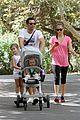 jessica alba family hike 01