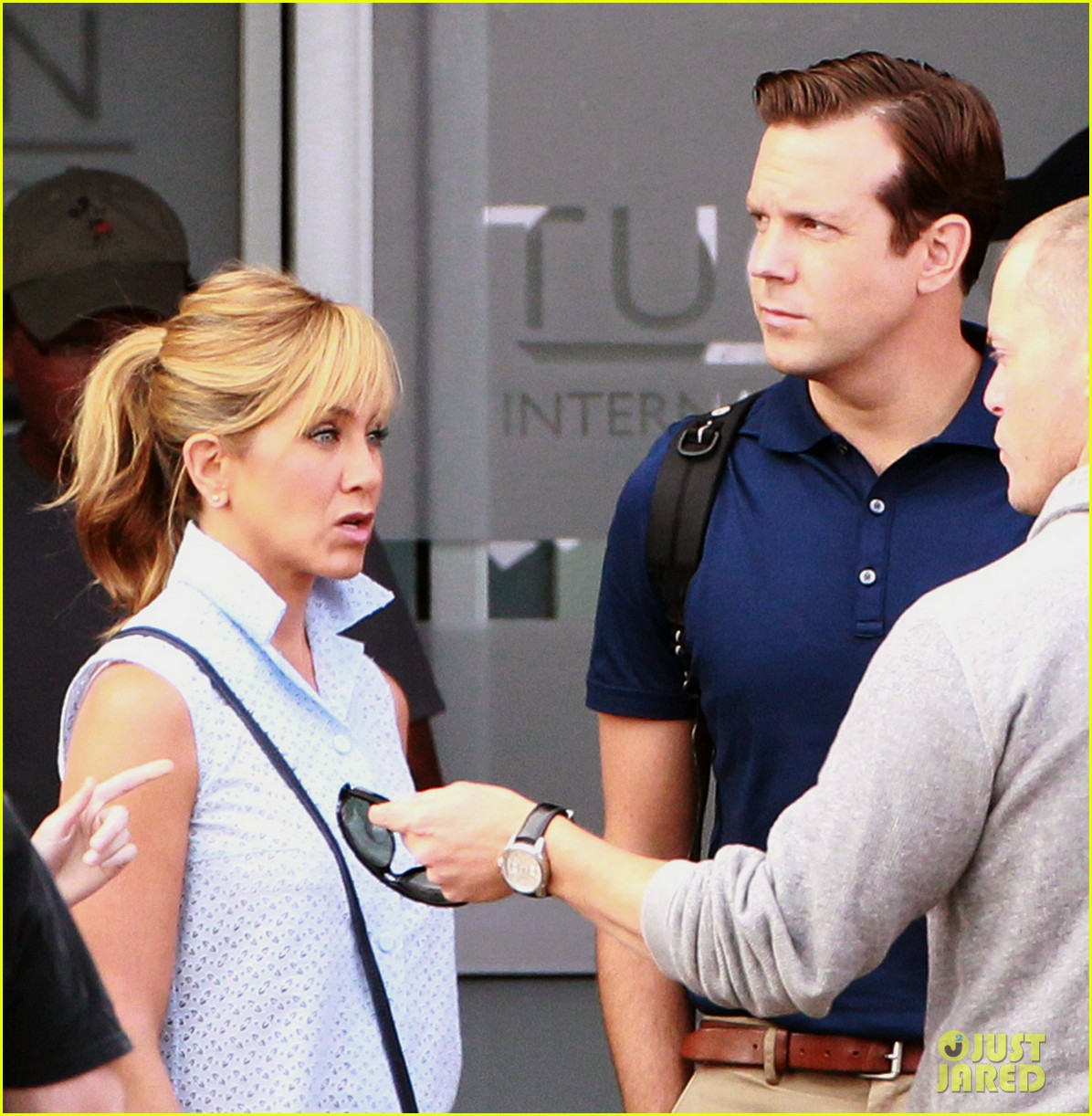 jennifer aniston emma roberts were the millers set 072729883