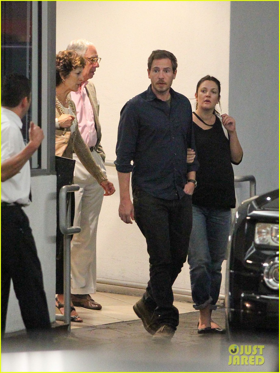 drew barrymore will kopelman dinner with parents 102726877