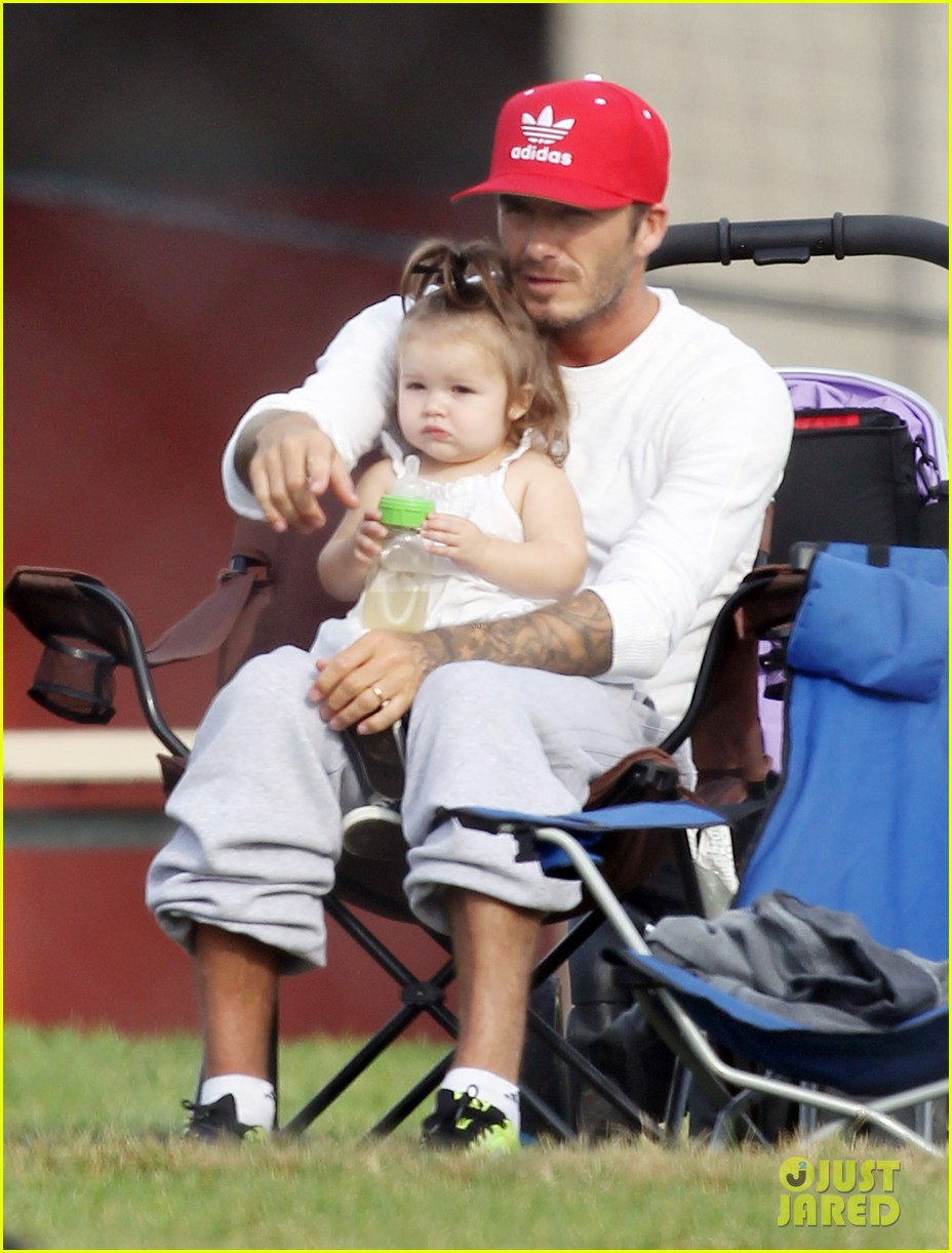 david beckham doting soccer dad 032727119
