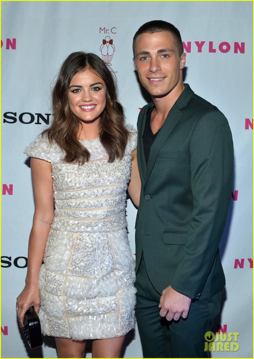 alexis bledel lucy hale nylon tv issue launch party 11