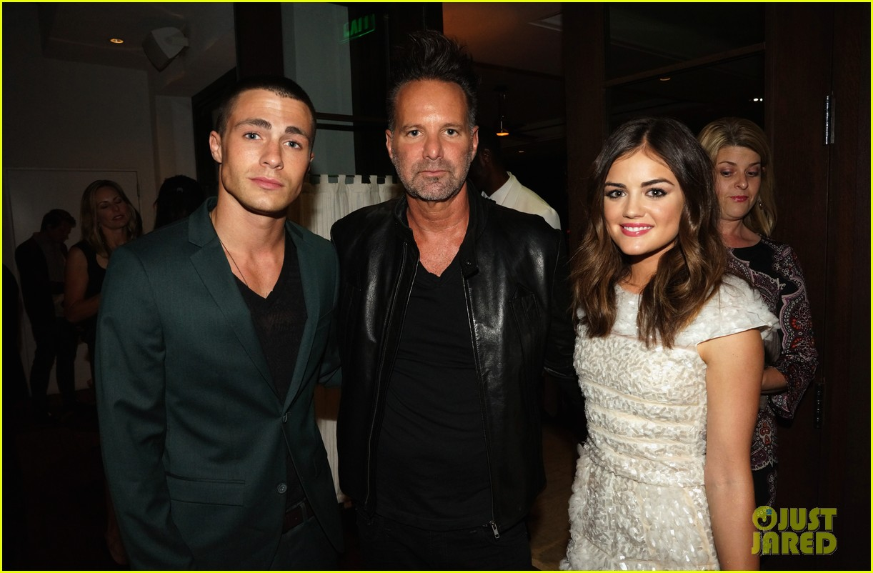 alexis bledel lucy hale nylon tv issue launch party 29