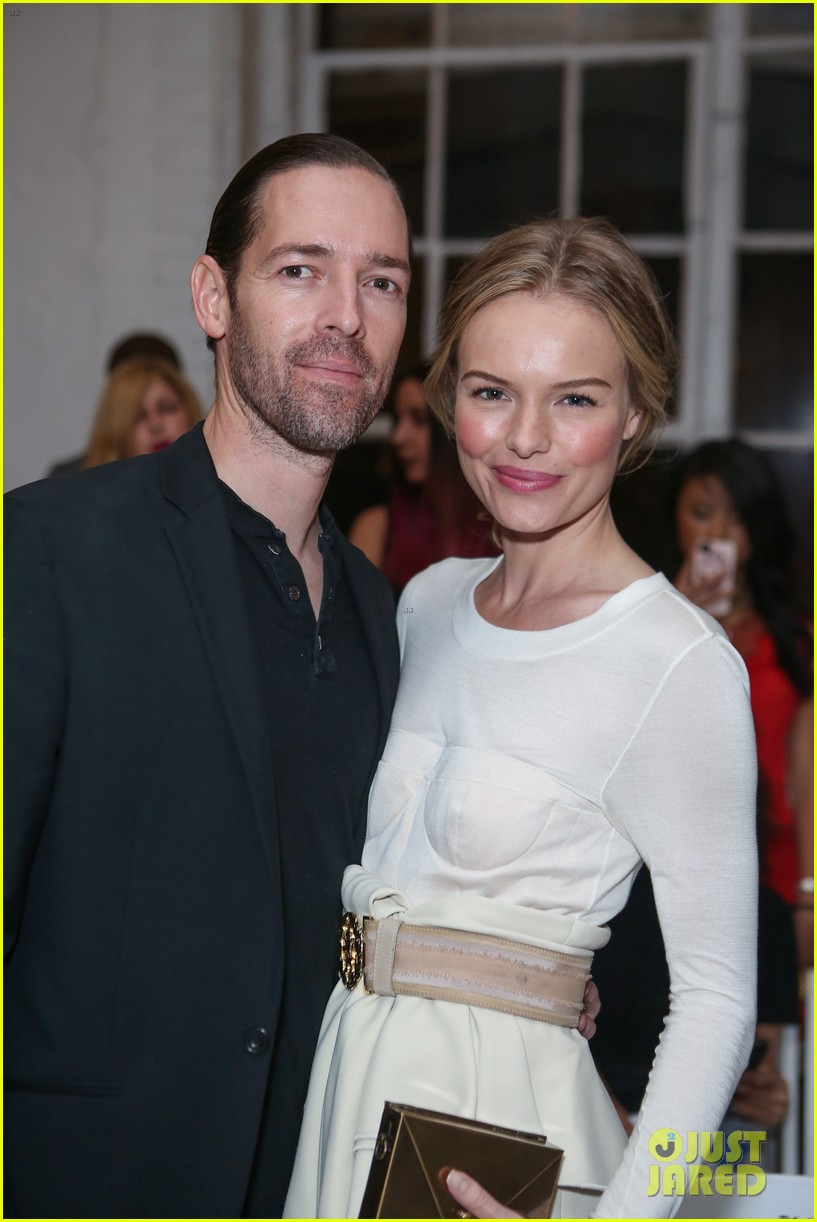 kate bosworth michael polish joseph altuzarra fashion show 09