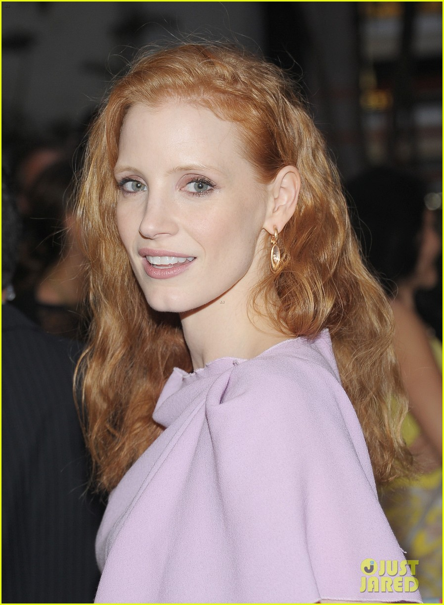 jessica chastain if there is i havent yet opening night 08
