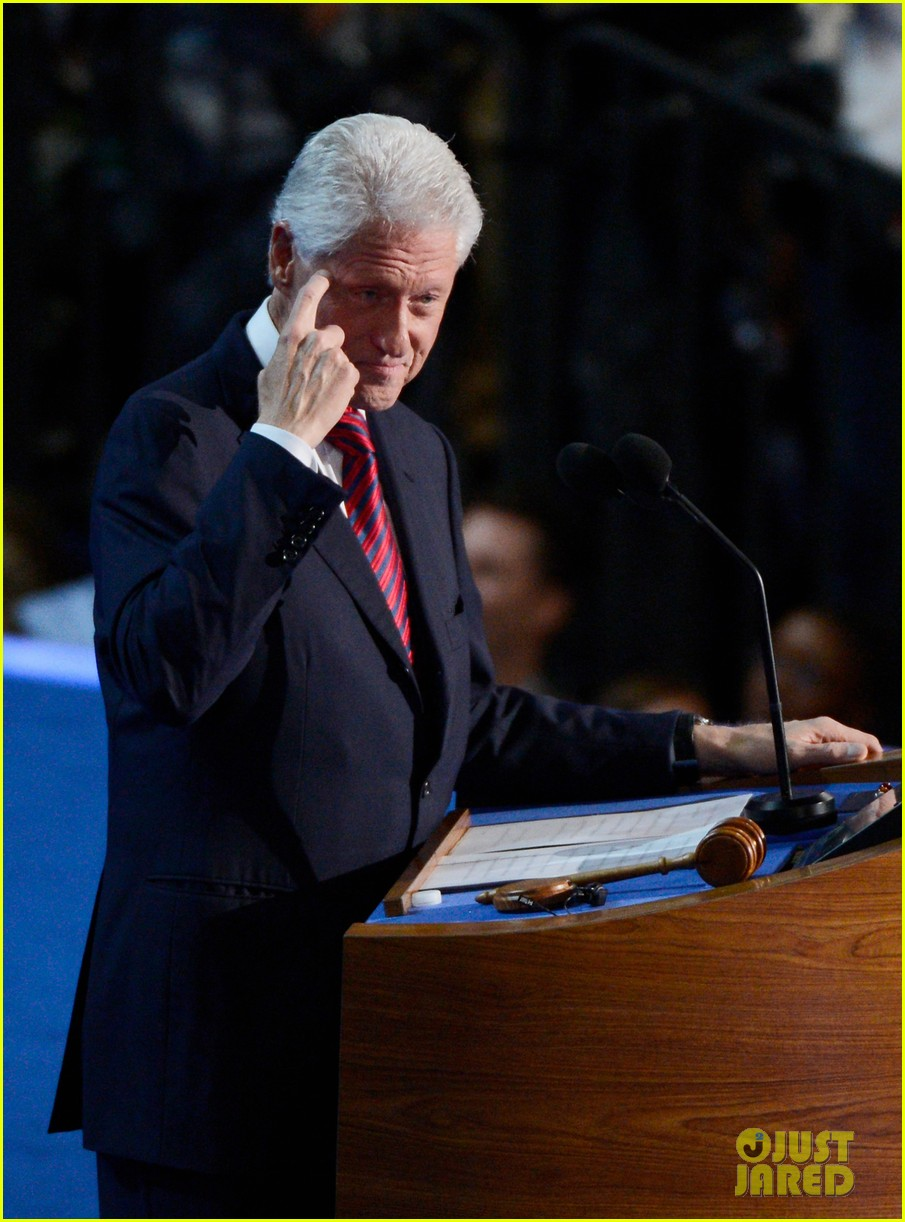 watch bill clinton speech at democratic national convention 25