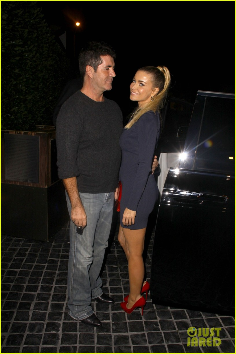 simon cowell dinner date with carmen electra 032727820