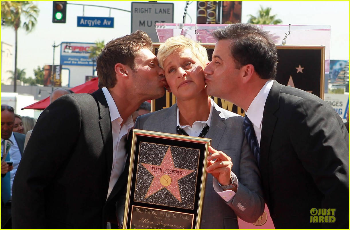ellen degeneres star hollywood walk of fame 04