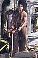 johnny depp armie hammer lone ranger set 03