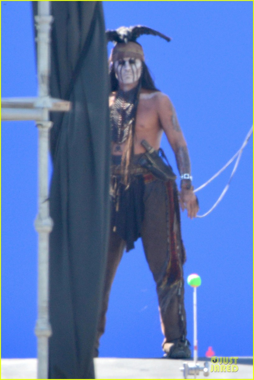 johnny depp lone ranger set 022724772