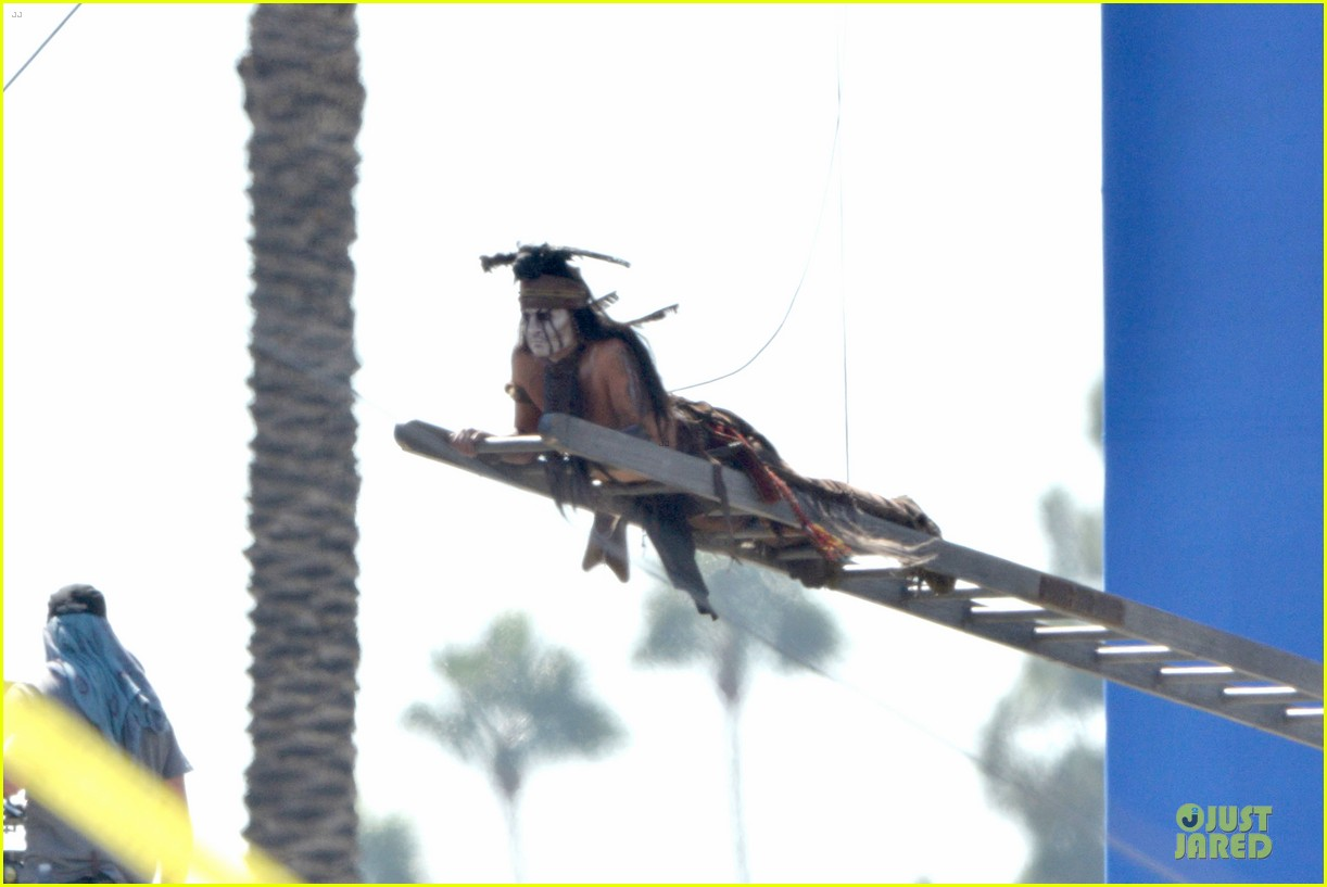 johnny depp lone ranger set 10