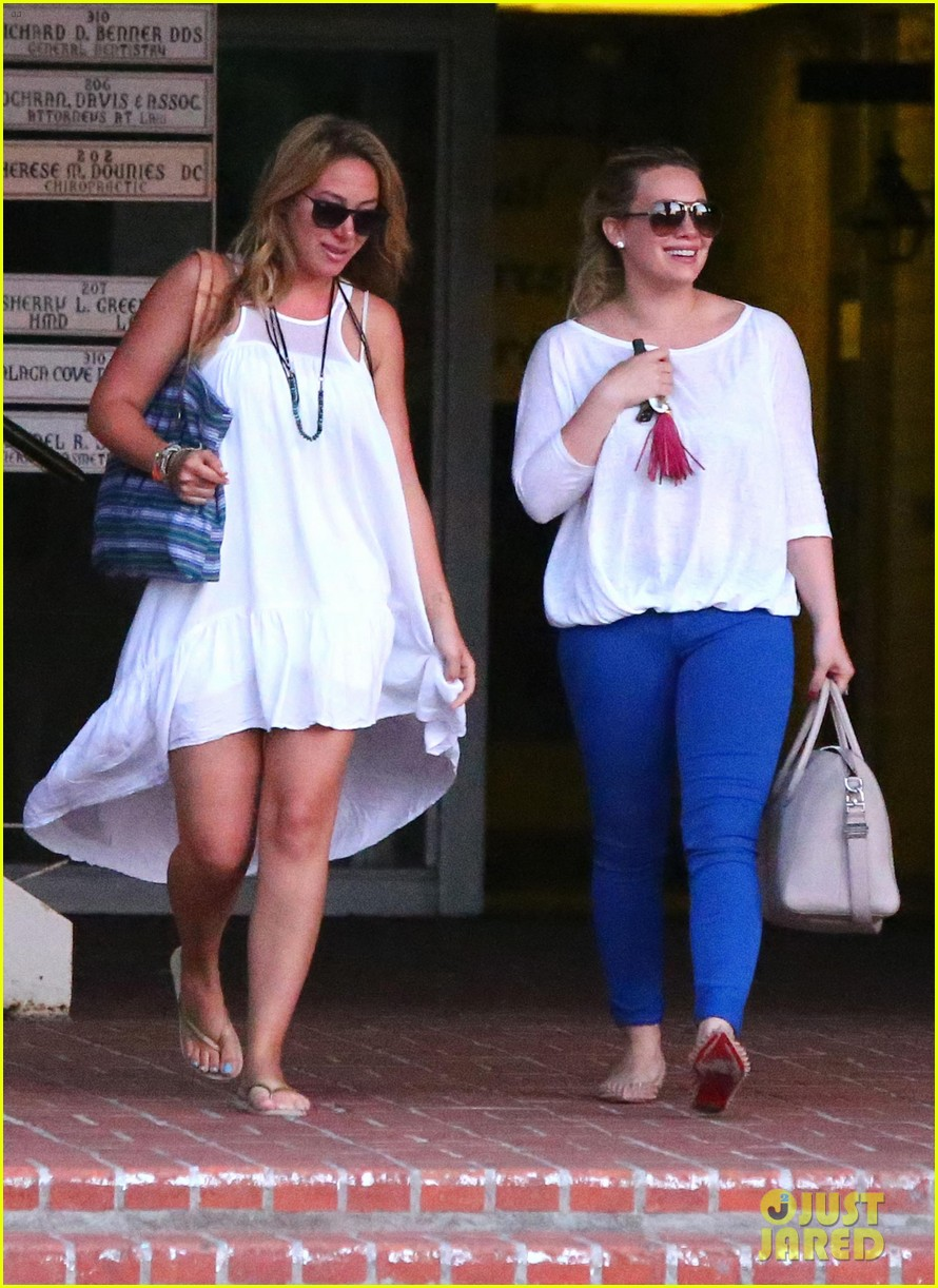 hilary duff palos verdes with haylie 03