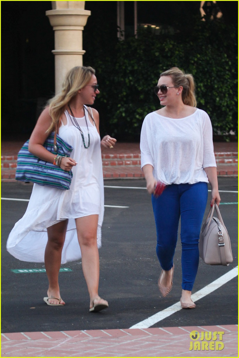 hilary duff palos verdes with haylie 09
