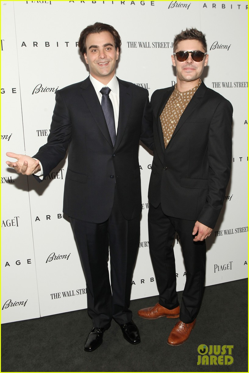 zac efron arbitrage premiere new york city 022721662