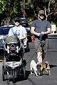anna faris chris pratt strolling with baby jack 01