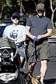 anna faris chris pratt strolling with baby jack 13