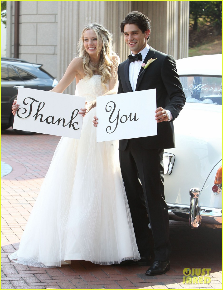 justin gaston weds melissa ordway first wedding pictures 032726562
