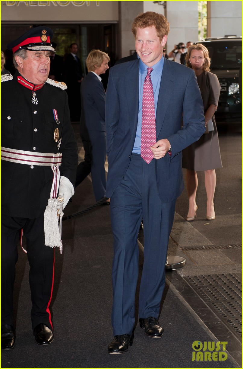prince harry first post nude pictures scandal appearance 012713441