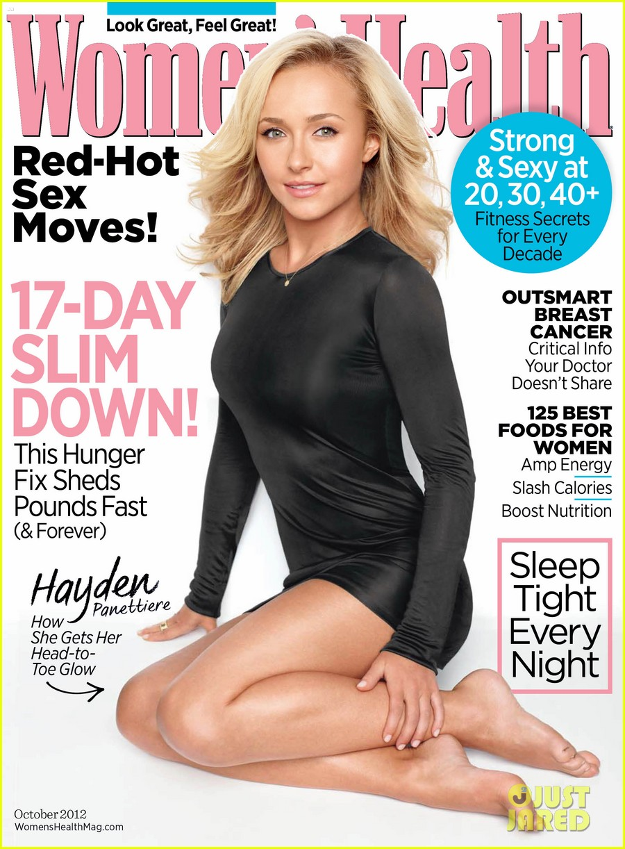 hayden panettiere womens health cover 01