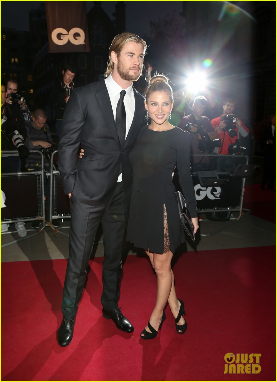 chris hemsworth elsa pataky gq men of the year awards 072714030