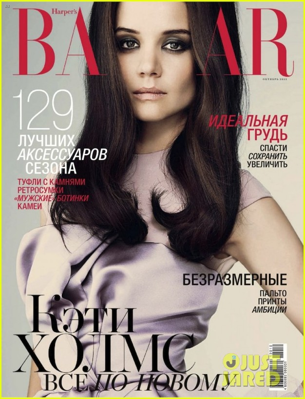 katie holmes covers harpers bazaar russia october 2012 05