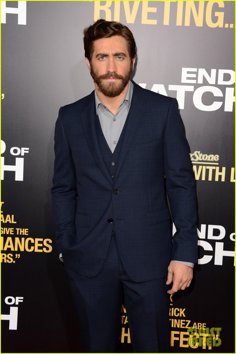 jake gyllenhaal anna kendrick end of watch premiere 13