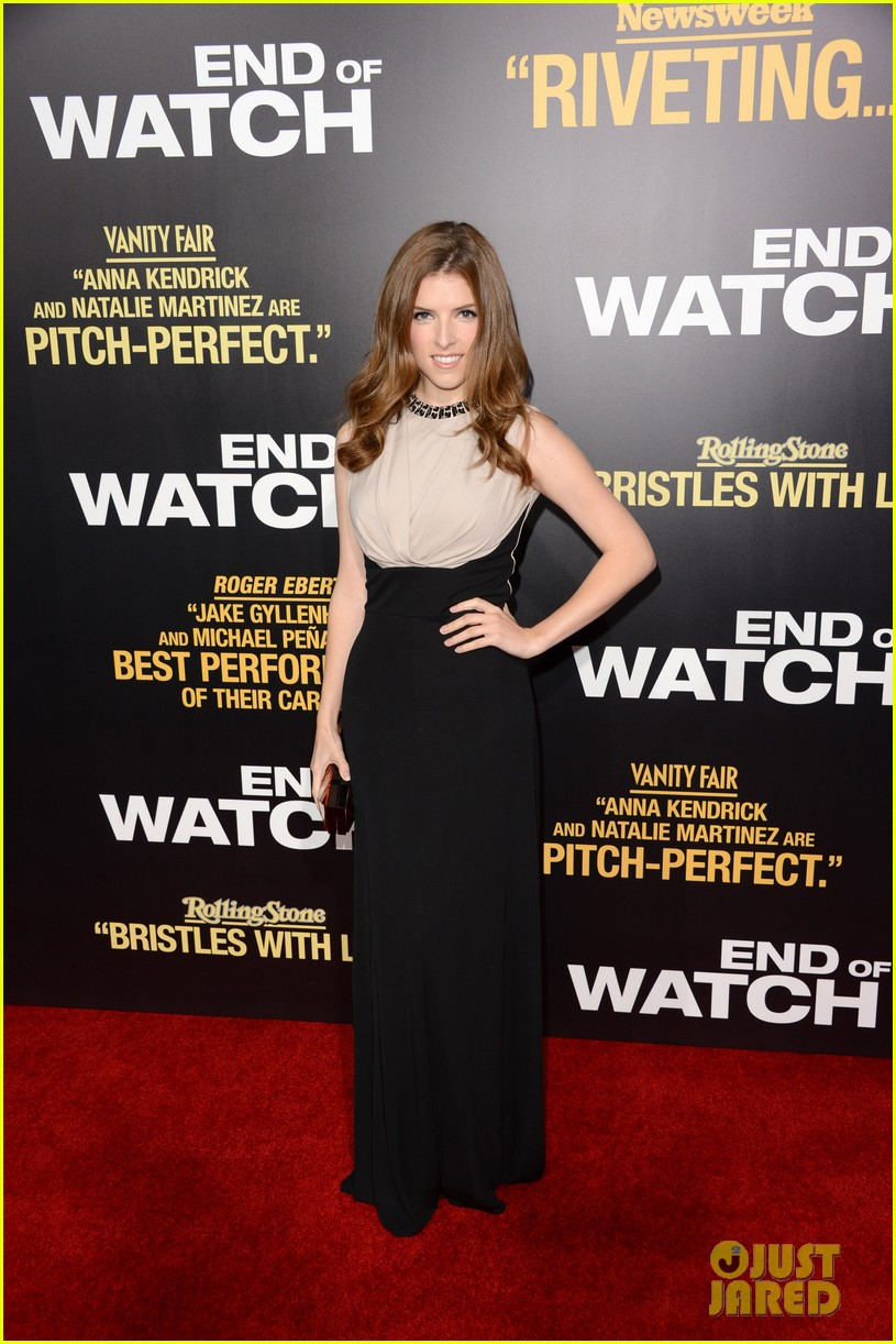 jake gyllenhaal anna kendrick end of watch premiere 182724049